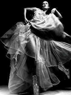 Masha Novoselova photographed by Ishi for PULP Magazine.