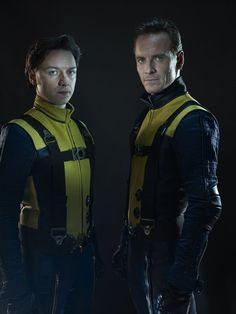 X-Men: First Class (2011) -  James McAvoy as Charles Xavier &   Michael Fassbender as Eric Lensherr