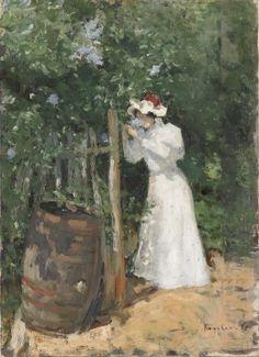 Summer by Konstantin Alekseyevich Korovin, 1895. The State Tretyakov Gallery, Public Domain