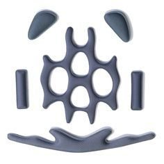 Catlike Whisper Coolmax Bike Helmet Pad Replacement Set - Grey