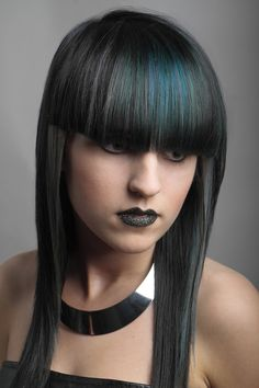 A Wella TrendVision shortlisted style, created by Daniel Benson, Regis Mops, Newcastle -pin it by carden