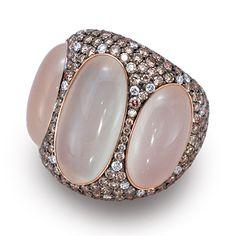 » de Boulle Collection Blush Moonstone Ring » de Boulle Diamond & Jewelry
