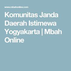 Komunitas Janda Daerah Istimewa Yogyakarta   Mbah Online Yogyakarta