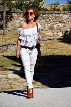 http://www.diseneitorforever.es/blanco-total-verano/ #ootd #outfit #outfitoftheday #look #lookoftheday #style #styleblogger