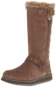 Skechers Women's Keepsakes-Tall 2 Buckle Snow Boot    118 customer reviews Price:	$58.73 - $89.95 & FREE Returns on some sizes and colors. Details