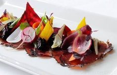 Bresaola Recipe With Cured, Pickled Vegetables - Great British Chefs