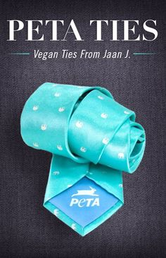 05e5ca8880c Each tie features an animal pattern representing a major focus of PETA s  lifesaving work. The