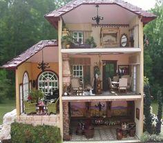Susan's Miniatures~Italian Villa