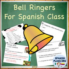We just updated our Spanish Bell Work product! If you've purchased it, make sure to re-download it at no additional cost for many new questions!