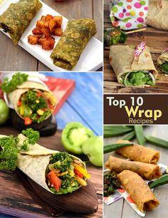 Top 10 Wrap Recipes | TarlaDalal.com | #109