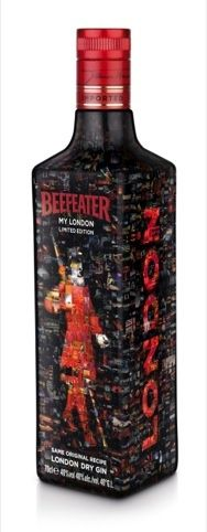 Limited edition Beefeater bottle by Coley Porter Bell created from Londoner's photographs PD