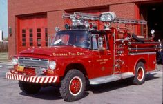 ◆CFD Midway Airport 1968 IH/Fire Boss ARFF◆