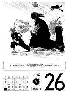 Tokyo Ghoul 366 Days Calendar 2016 - September - Album on Imgur