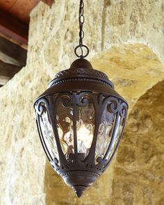 """Too good to be true.  Perfect for my front porch and more affordable than others I've been looking at, but will wait for sale.  Scandia Outdoor Lantern Pendant Light by ELLINGTON/LITEX at Horchow.  12""""Dia. x 20""""T with 3'L chain."""