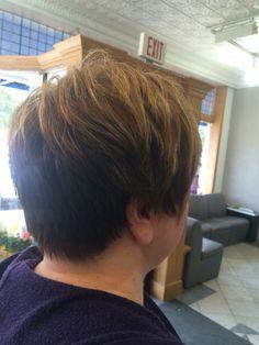 Short hair Mary's Shear artistry Lauren Wallace