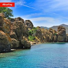 The Aegean coast of Turkey is full of countless bays just inviting you to jump into the stunning #BlueFlag waters. It's just up to you to find that perfect spot!
