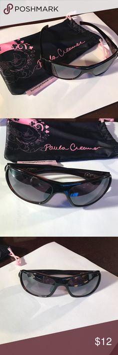 Paula Creamer Sundog Sunglasses Paula Creamer Sundog Sunglasses dark brown frames with mirrored lenses Sundog Paula Creamer Accessories Glasses