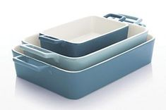 3-Piece Potluck Baker Set | Crate and Barrel