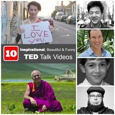 10 Inspirational, Beautiful and Funny TED Talk Videos to Definitely Watch