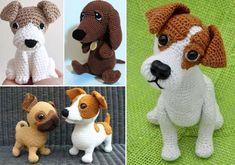 Crochet Toys, Free Crochet, Dog Hotel, Christmas Crochet Patterns, Christmas Gifts For Mom, Little Dogs, Free Pattern, Dinosaur Stuffed Animal, Daisy