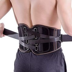 King of Kings Lower Back Brace Pain Relief with Pulley System - Lumbar Support Belt for Women and Men - Adjustable Waist Straps for Sciatica, Spinal Stenosis, Scoliosis or Herniated Disc - Medium Hip Fat Exercises, Lower Back Exercises, Lower Back Fat, Lower Back Pain Relief, Lose Thigh Fat, Lose Body Fat, Weight Training Workouts, Fat Workout, Workout Tips