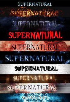 Supernatural intro seasons 1-10 by linnlag