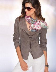 Замшевая женская куртка (52 фото): с чем носить и как выбрать куртку из замши
