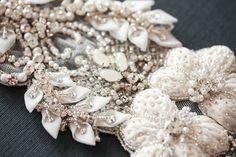 bridal dress sash - paris romance