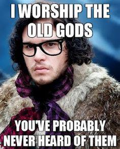 XD hahahahah Hipster John is Hipster Pagan XD