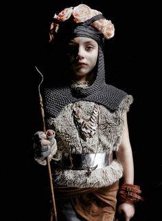 Kids Megatrends A/W 16/17 – ReMaster Medieval_castles + dungeons , medieval royalty +ancient knights, embossed metalwork symbols
