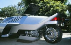 Ron Wills Turbo Phantom, with Goldwing engine.
