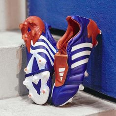 Soccer Boots, Football Boots, Soccer Cleats, Soccer Ball, Adidas Predator, 2002 World Cup, Ribbon Shoes, Football Equipment, Adidas Football