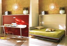 Wall beds, hidden beds, sofa beds, hidden wall beds, murphy beds, space-saving furniture, multi function furniture, converting coffee/dining tables in Singapore
