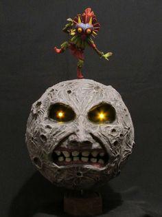 Legend of Zelda Skull Kid & Moon Sculpture #zelda #majorasmask…