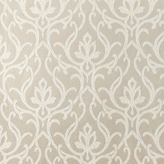 Dazzled Wallpaper in Metallic and Beige design by Candice Olson