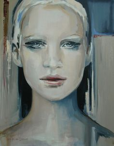 "Hesther Van Doornum; Acrylic, 2012, Painting ""Misty Morning"""