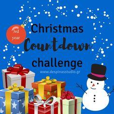 150557d71fe Μετράμε αντίστροφα για τα Χριστούγεννα μαζί για 3η χρονιά με δωράκια  {ΠΡΟ(Σ)ΚΛΗΣΗ για bloggers}. Christmas Countdown. Despina's studio