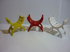 Hacer sillas curvas para tus muñecas  Do curved chairs for your dolls