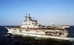 June 11, 1983: The first aircraft carrier designed as such to be built in Italy, Giuseppe Garibaldi, is launched by Italcantieri at Monfalcone.