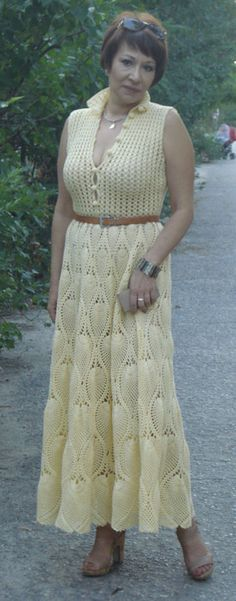 if i have that much patience to crochet this dress..why not?