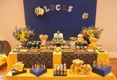 Simplesmente apaixonada por esta Festa dos Minions!!!Parabéns Maria Serafina, por fazer uma decoração tão encantadora.Imagens do Facebook Maria Serafina.Lindas ideias e muita inspiração.Bjs, ...