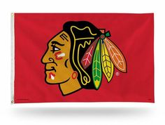 Kohl's Chicago Blackhawks Banner Flag