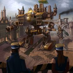 亗 Dr. Emporio Efikz 亗 blog | City of Steam #Steampunk #Gaming #Mech