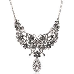 Like and Share if you want this  Women's Ethnic Butterfly Flower Hollow Drop Pendant Chain Bib Choker Necklace     Tag a friend who would love this!     FREE Shipping Worldwide     Buy one here---> http://jewelry-steals.com/products/womens-ethnic-butterfly-flower-hollow-drop-pendant-chain-bib-choker-necklace-2/    #cheap_earrings