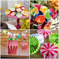 Enfeites com Papel para Festa Junina Ideas Para Fiestas, Christmas Signs, Wraps, Gift Wrapping, Halloween, Paper, Gifts, Pallets, Diy Home