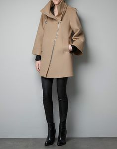 CAPE ZIP COAT