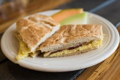 Breakfast sandwich at Banyan Cafe | Photo Credit: ©Find. Eat. Drink.