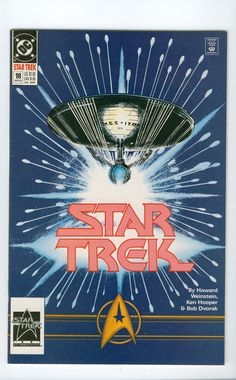 Vintage Star Trek Original Series Comic Book by winterparkcollect