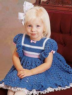 Free Crochet Baby Dress Pattern