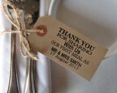 70 Wedding Napkin Holders-Rustic Wedding Table by IzzyandLoll